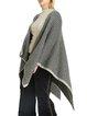 Imitation cashmere warm human pattern shawl big scarf