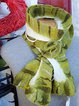 Nuno felted scarf, wool felted scarf , merino wool scarf, felt scarves in blue/ winter scarf