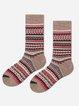 Hot sale ethnic style mid-length warm cashmere socks