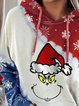 Hoodie Long Sleeves Christmas Sweatshirt