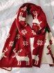 Christmas scarf and warm shawl