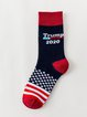 Independence day star striped socks