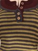 Cotton-Blend Vintage Striped Shirts & Tops
