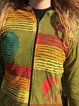 Vintage Color-Block Outerwear