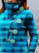 Shift Vintage Stripes Printed Sweatshirt