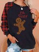 Christmas Oh, SNAP! Gingerbread Man Print Sweatshirt