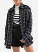 Little fragrance jacket lapel fringed autumn and winter jacket