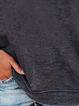 Crew Neck Casual Long Sleeve Sweatshirt