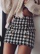 Print Above Knee Pencil Skirts