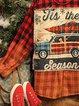 Checkered/plaid Long Sleeve Shirts & Tops
