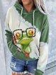 Animal Casual Hoodie Sweatshirt