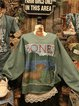Long Sleeve Crew Neck Sweatshirt