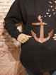 Shift Cotton-Blend Vintage Cartoon Sweatshirt