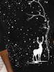 Casual Hoodie Abstract Sweatshirt