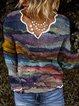 Graphic Long Sleeve Printed Shirts & Tops