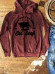 Animal Printed Sports Hoodie Sweatshirt