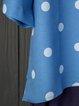 Casual Paneled Long Sleeve Cotton Shirts & Tops