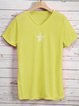 Plus Size Casual Short Sleeve T-Shirts