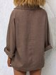 V Neck Sweet Long Sleeve Shirts & Tops
