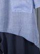 Casual Long Sleeve Crew Neck Linen Pockets Shirts & Tops