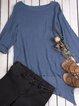 Asymmetrical Hem Long Tunic Shirts