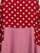 Casual Long Sleeve Shift Polka Dots Dresses