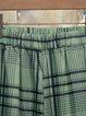 Gingham Casual Women Pants