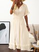 Beige Women Dresses Dresses(Belt Excluded)