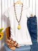 Sheath Women Daily Casual Short Sleeve  Solid Summer Dress