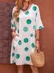 V Neck Women Dresses Holiday Pockets Dresses