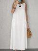 White Cotton Dresses
