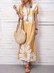 Everyday Women's Dress Casual Daisy Print Dress