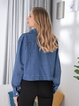 Long sleeve casual denim jacket loose all-match jacket
