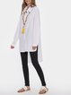 Button Down Casual Cotton Linen Shirt Dress