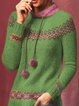 Vintage Sweater Plus Size Knitted Jumper