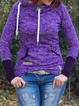 Plus size Cotton Long Sleeve Hoodies