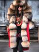 Winter Warm Fluffy Coat Faux Fur Overcoat Parka