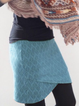 Plus size Solid Casual Cotton Skirts