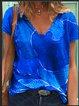 As Picture Cotton-Blend Vintage Shirts & Tops