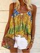 Bohemian casual strap top