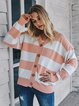 Long Sleeve Striped Casual Sweater