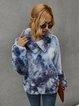 Casual Ombre/tie-Dye Sweatshirt