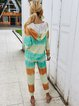 V Neck Dye Suits