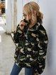 Long Sleeve Checkered/plaid Sweatshirt