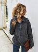 Shawl Collar Long Sleeve Outerwear