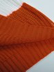 Loose Stitching triped Round Neck Knitted Pullover Sweater