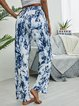 Tie Dyed High Waist Printed Casual Long Pants
