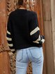 V-neck Pullover Sweater knitted Cardigan Coat