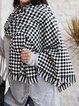 Black Elegant Scarves & Shawls