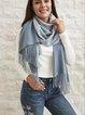 Gray Scarves & Shawls